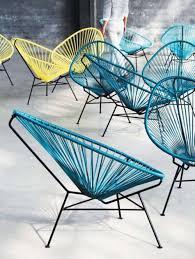 acapulco chaise acapulco chair fåtölj acapulco chair fåtölj ljusblå silla