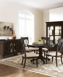 Bradford Round Dining Table Furniture Macys - Macys dining room furniture