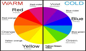 Warm Blue Color Warm Cool Colour Wheel Hungrylikekevin Com