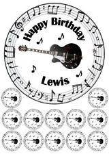 guitar cake topper guitar cake topper ebay