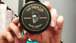 Pomade Fix fix your lid pomade review