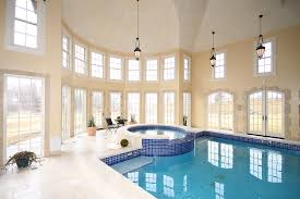 interior decoration ultra modern indoor swimming pool design