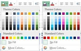 colour themes for excel excel tips tutorial understanding and applying themes in excel
