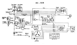 index of diagrams xs650