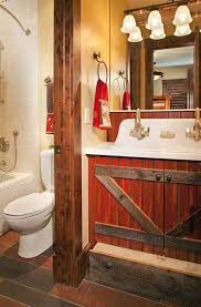 small rustic bathroom ideas endearing rustic bathroom designs pictures in small home remodel