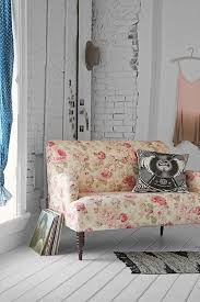 Floral Sofas In Style Tessa Loveseat Urban Outfitters Home Muse Pinterest Urban