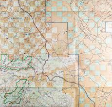 Map Of Mesa Az Trail Map Of Apache Creek U0026 Juniper Mesa Prescott U0026 Kaibab