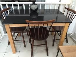 john lewis 6 seater dining table with granite top and beech wood