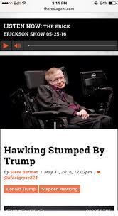 Stephen Hawking Meme - 25 best memes about stephen hawkings stephen hawkings memes