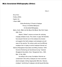 8 blank annotated bibliography templates u2013 free sample example