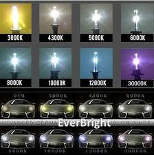 brightest hid lights for cars 2pcs ac12v 35w car xenon hid h13 hi lo foglight headlights 4300k