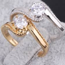 s rings 2015 new fashion classic s design wedding ring studded cz rings for