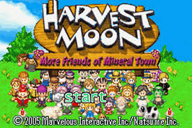 play harvest moon more friends of mineral town nintendo game boy