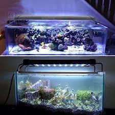 30 led aquarium light amzdeal 30cm 30 white 8 blue aquarium light dimmable aquarium fish