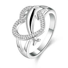 dolphin engagement ring wholesale shopping india silver jewelry engagement rings