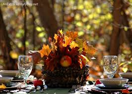 Fall Table Settings Table For Fall Or Thanksgiving Table Settings An