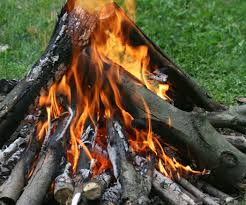 building a campfire 6 steps with pictures
