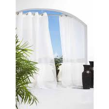 Sunbrella Outdoor Shower Curtains by Escape Indoor Outdoor Grommet Panel Walmart Com