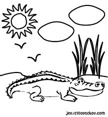 106 dessins de coloriage crocodile à imprimer sur LaGuerchecom  Page 7