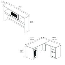 L Shaped Desk Dimensions L Shaped Desk Dimensions Bethebridge Co