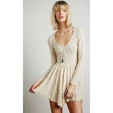 free people free people witchy skater lacey tea slip dress from