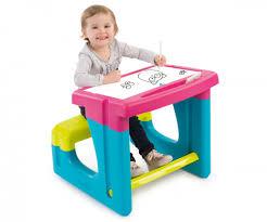 bureau enfant smoby pink pupils desk desks arts crafts products