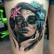 day of the dead girls u2013 macabre and symbolic inked cartel