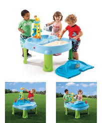 step2 spill splash seaway water table step2 water table wall play set waterfall discovery kids activity