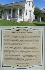 when was the first house built new berlin historical society