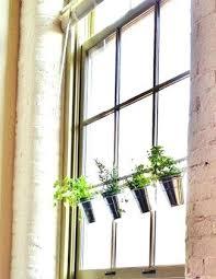 window planters indoor hanging window planter curtain rod hanging planters hanging window