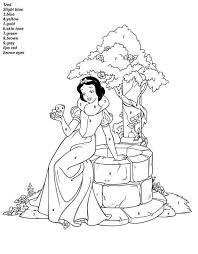 disney princess coloring printables