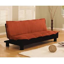 Leather Couch Futon Click Clack Futon Sofa Bed Roselawnlutheran