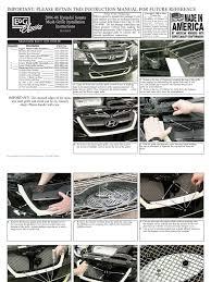 download 06 08 honda civic sedan grille installation manual carid