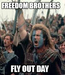 Fly Out Memes - meme creator freedom brothers fly out day meme generator at