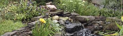 Easy Waterfall Designs For Your Backyard Sears - Backyard waterfall design