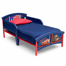 Disney Bedroom Collection by Legare Kids Furniture Race Car Series Collection Twin Bed Blue By