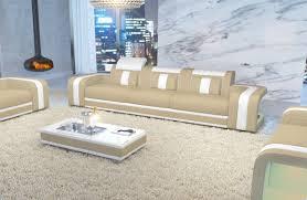Wohnzimmer Couch G Stig 3 Sitzer Space Ledersofa Von Nativo Möbel Deutschalnd Günstig Kaufen