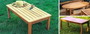 Garden Coffee Table Teak Coffee Tables Teak Side Tables