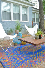 Target Outdoor Rugs Target Outdoor Rugs Patio Eclectic With Blue Brick Bright Blue