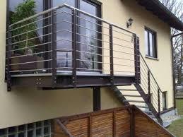 balkon mit treppe balkon smb stahl und metallbau gmbh co kg