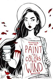 Color Of The Wind Inktober 11 Colors Of The Wind By Bewareitbites On Deviantart
