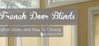 french door blinds the finishing touch