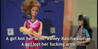 Most Popular Girls In School Memes - a girl lost her arms ashley katchadorian the most popular