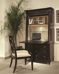 Cherry Secretary Desk With Hutch by Furniture Cherry Finished Mahogany Secretary Desk That Was Made