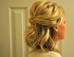 bridesmaid hairstyles for medium length hair updos for medium hair half up half down women medium haircut
