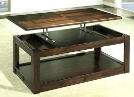 lift up coffee table hinges raising coffee table gas lift coffee