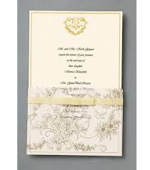 wilton wedding invitations wilton 25 ct gold wedding toile invitation kit clickprint