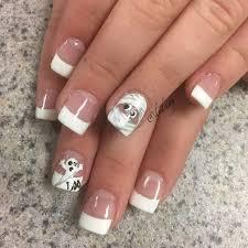65 halloween nail art ideas white nails
