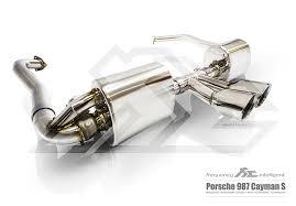 porsche boxster 987 exhaust porsche 987 boxster cayman valvetronic exhaust system fi exhaust