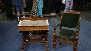 congressional desk and chair ca 1857 antiques roadshow pbs